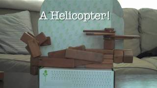 Magnetic Wooden Toys From Tegu - Building A Helicopter