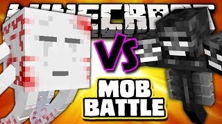 UR-GHAST VS WITHER BOSS - Minecraft Batalha de Mobs - Twilight Forest Mod