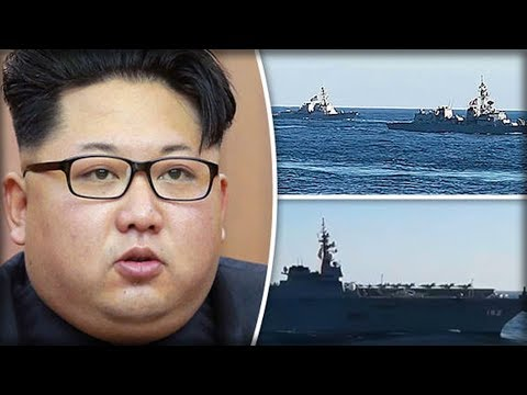 NORTH KOREA: US CARRIERS CLOSING IN ON KIM JONG-UN AS WORLD WAR 3 FEARS CONTINUE TO GROW