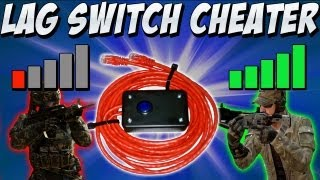 Lag Switch Cheater & BO2 Hacker Banned! (Black Ops 2 Cheaters)