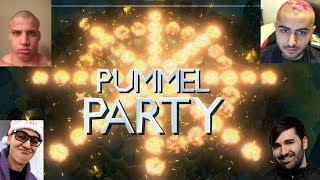 Yassuo,Tyler1,Voyboy and Trick2g playing Pummel Party [2nd March]