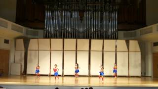 I need a hero - The sparklettes compete for the 1st time