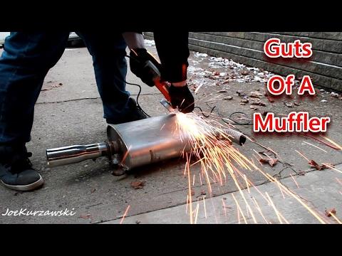 Cutting Open A Walker SoundFX Muffler