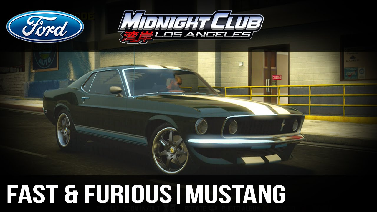 How to make full tutorial midnight club l a the fast the furious tokyo drift ford mustang youtube