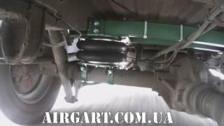 Работа пневморессор на задней оси автомобиля  MERCEDES Sprinter 316