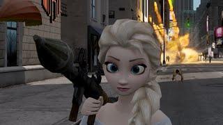 Elsa from Frozen [GTA IV Ped Mod]