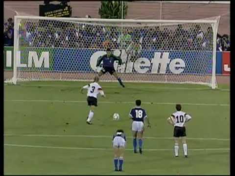Fussball Wm 1990 Finale Das Siegtor