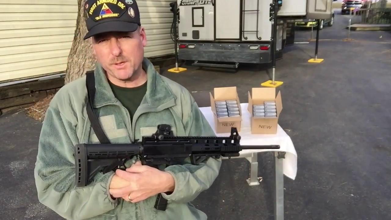 Thureon Defense Carbine Glock 26 Freedom Munitions 9mm PART