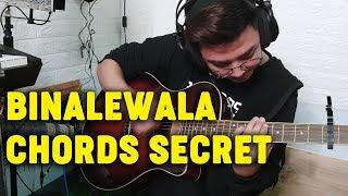 BINALEWALA SECRET GUITAR CHORDS | Babin Lim
