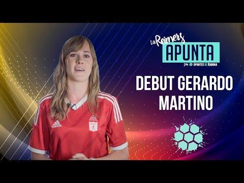 Debut Gerardo Martino - La Reimers Apunta