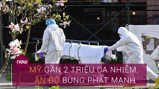 Virus Corona thế giới ngày 4/6: Mỹ tiệm cận 2 triệu ca nhiễm, Ấn Độ bùng phát mạnh | VTC Now