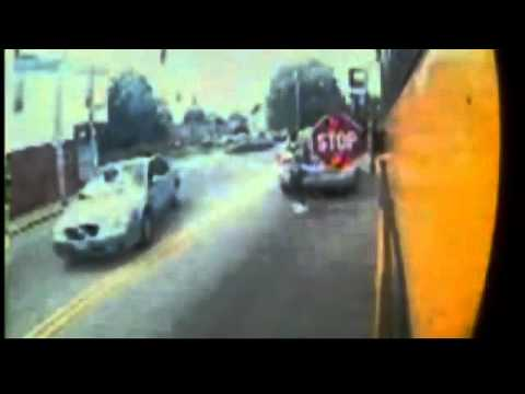 Cameras catch cars passing school buses