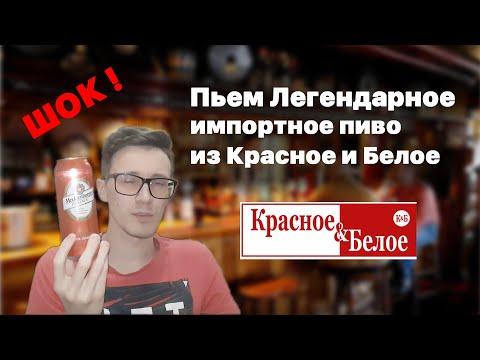 🍺Обзор импортного пива из Красное и Белое. Смотреть всем. Шокирующая правда!🍺