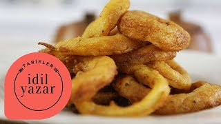 How To Make Crispy Onion Rings - İdil Yazar - Recipes