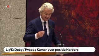 TERUGKIJKEN: Kamerdebat over positie Harbers