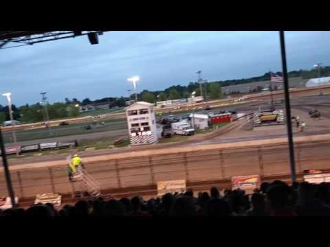 Shawano Speedway Late Model Heat Races 8 2 2017
