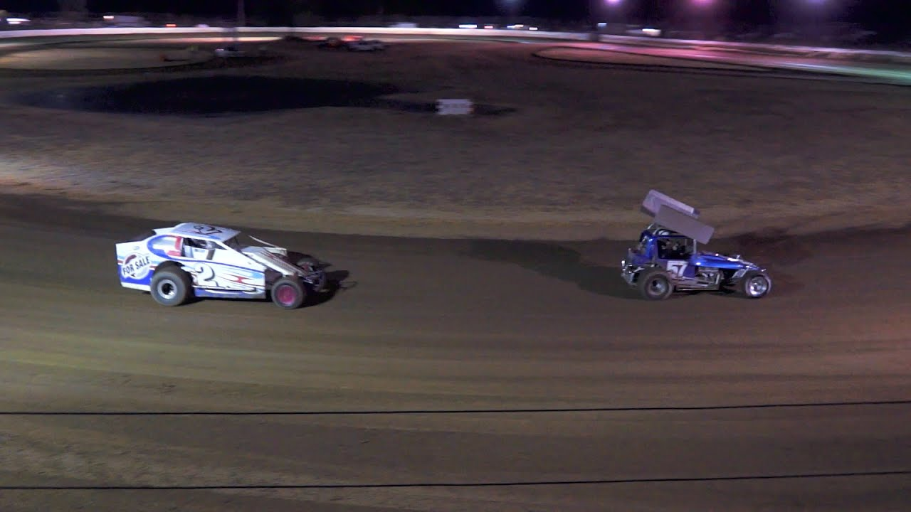 DIRT MODIFIEDS - V8 and VINTAGE SUPER MODIFIED TOGETHER - YouTube