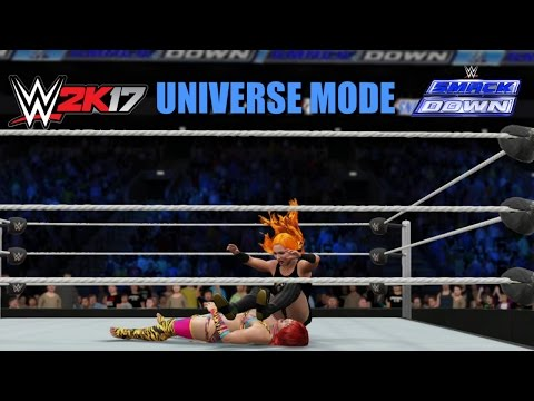 Smackdown is...Donald Trump??? | WWE 2K17 UNIVERSE MODE | LIVE!! (EP10)