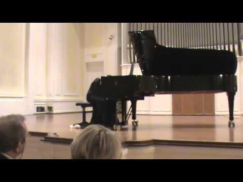 Brigitte Subkov - Solo Piano Concert, Musikakademie Basel, Grosser Saal (2015)