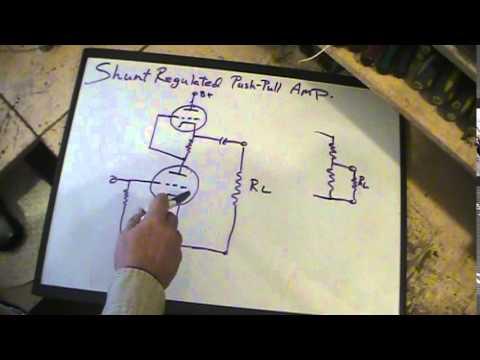 Shunt Regulated Push Pull Amp