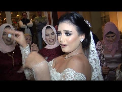 زفه جمال وشقاوه لعريس وعروسه اخر حلاوه ورقص جامد ع المزمار Bride flax