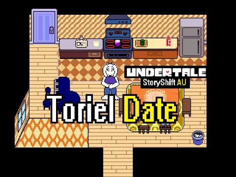 (OLD)Hanging out with Toriel | Storyshift AU(Undertale Comic Dub)