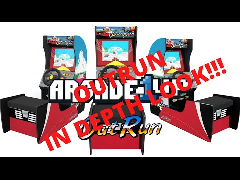New Arcade1up: In Depth Look at OutRun seated arcade cabinet!  Officially Announced! from PsykoGamer