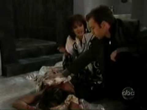 Dorian and Blair: Blair is stabbed