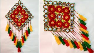 DIY Beautiful Wall Hanging/ Traditional Rajasthani Wall Hanging Idea