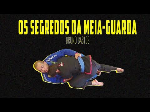 Bruno Bastos ensina raspagem de meia-guarda no Jiu-Jitsu