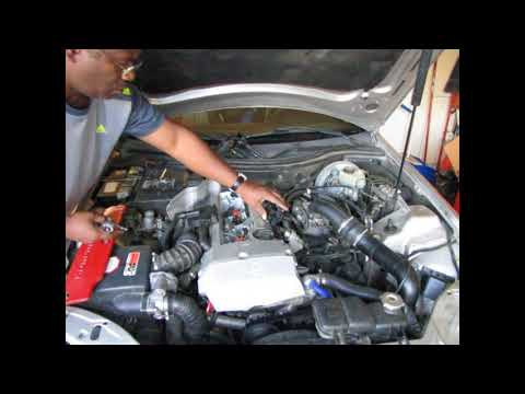 Mercedes-Benz SLK230 Low/Rough Idle Problem Fixed/Solved