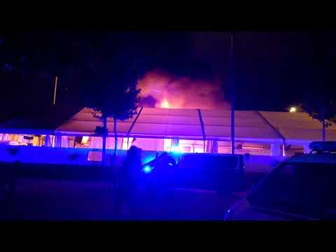 Incendio caseta Fosforito en la Feria de Córdoba