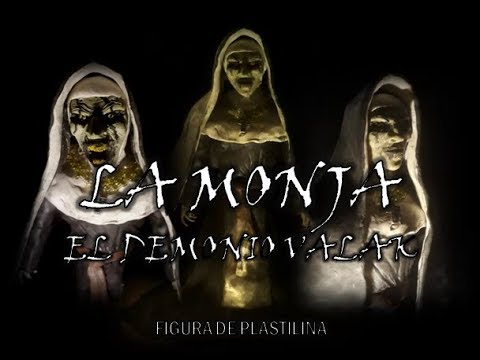 La Monja [Especial De Halloween] - Figura De Plastilina
