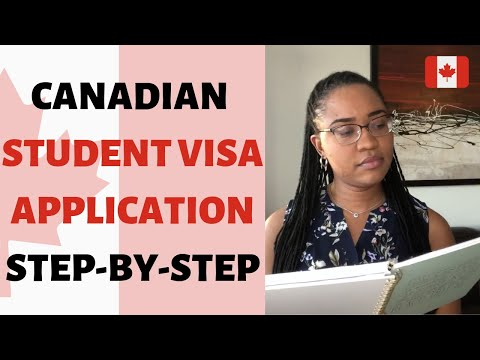 CANADIAN STUDENT VISA APPLICATION - STEP-BY-STEP Guide