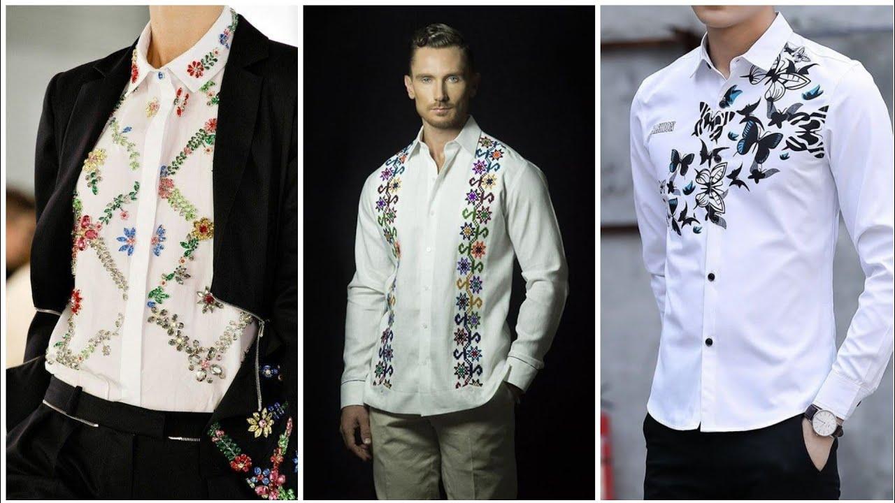 Italian Men T Shirt Embroidery Design