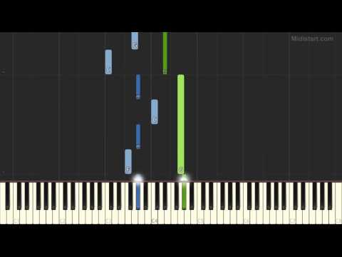 Ryuichi Sakamoto - Solitude (Piano Tutorial) [Synthesia Cover]