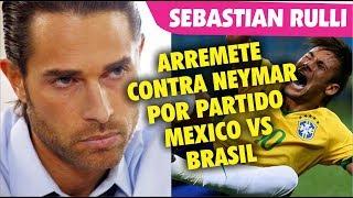 Sebastian Rulli ARREMETE contra Neymar