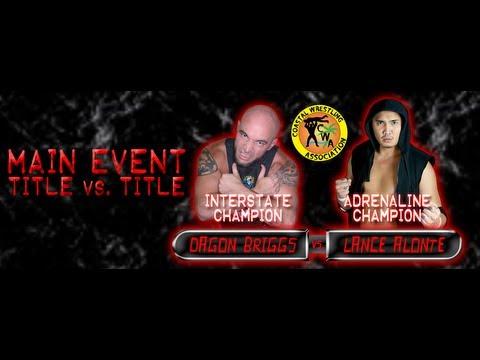 Pro Wrestling Extra (extras): Lance Alonte vs Dagon Briggs (Title vs Title) - CWA Birthday Bash 2013