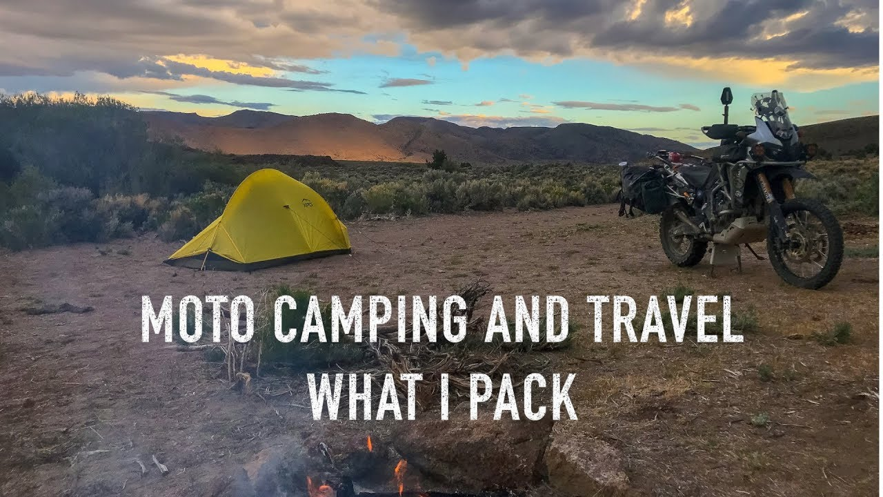 Moto Camping and Travel: What I Pack on the Honda Africa Twin