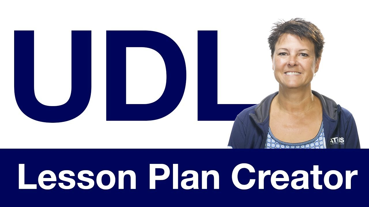 udl lesson plan creator youtube