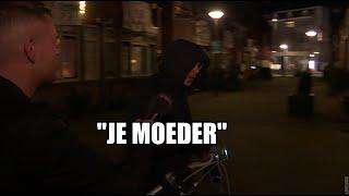 Rotterdamse junk tegen Dennis: 'Je moeder!'