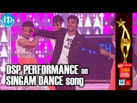 Devi Sri Prasad Live Performance on SINGAM Dance Song | SIIMA 2014