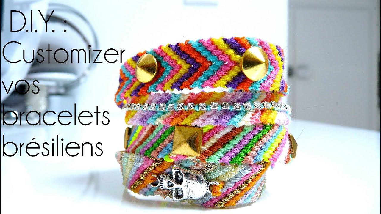 tutoriel d i y cr er customizer vos bracelets br siliens friendship bracelet. Black Bedroom Furniture Sets. Home Design Ideas