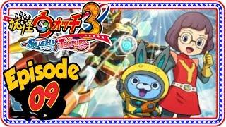 Yo-Kai Watch 3 Sushi & Tempura - Episode 9 / Part 9, Abdallah guide...