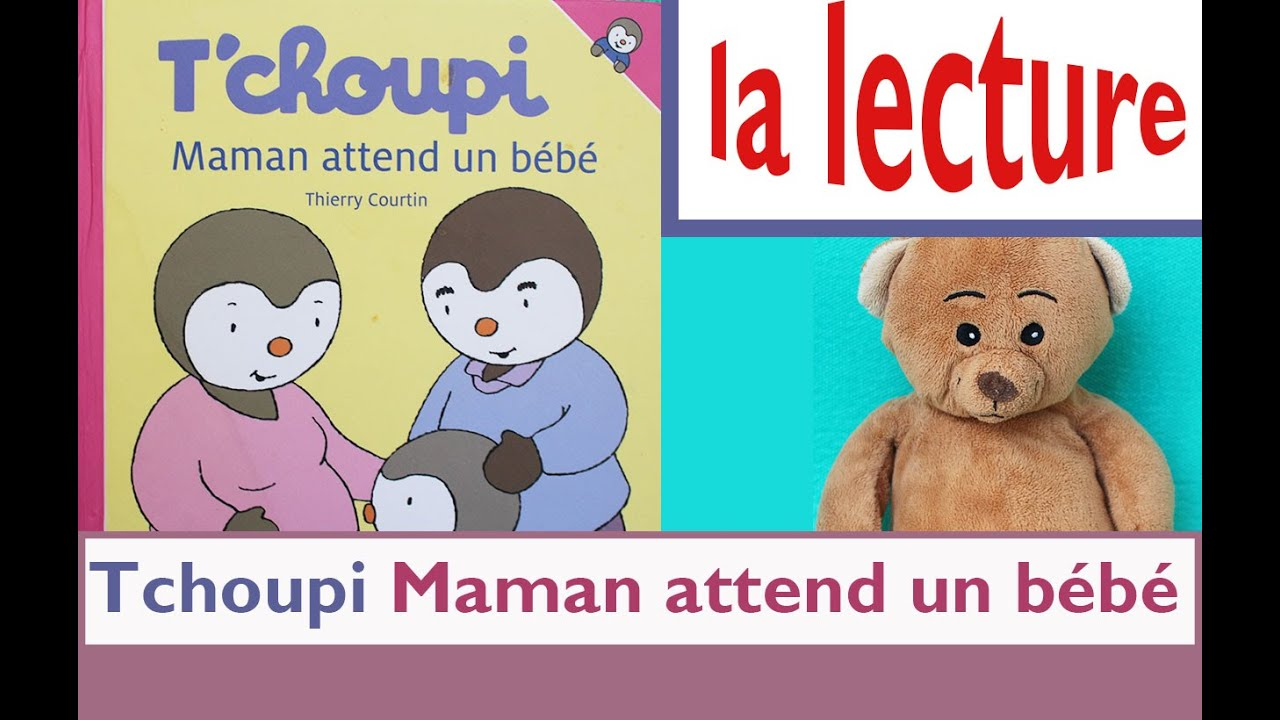 apprends lire avec nounours tchoupi maman attend un. Black Bedroom Furniture Sets. Home Design Ideas