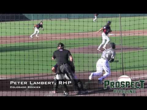 Peter Lambert Prospect Video, RHP, Colorado Rockies