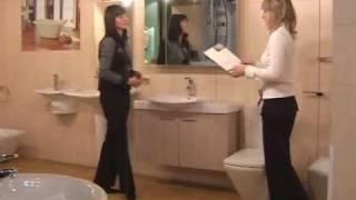 Ремонт ванной комнаты и туалета - 1(Большинство людей живёт в типовых квартирах с небольшими по площади ванными комнатами. В этом фильме мы..., 2011-03-25T08:56:34.000Z)
