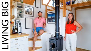 Rent-Free Urban Living in Amazing Tiny House