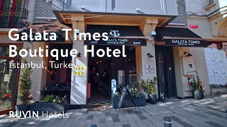 Galata Times Boutique Hotel Review | Istanbul [2020]