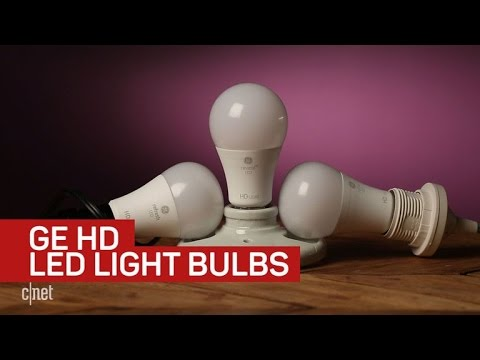 GE's selling 'HD' LED light bulbs